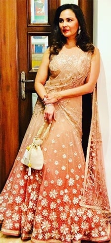 Lara Dutta Friend Wedding