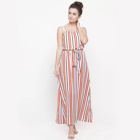 Maxi Multicolor Dress