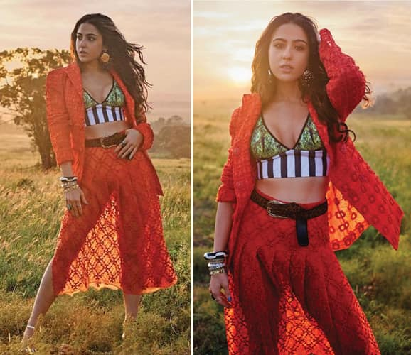 Sara Ali Khan Filmfare Cover Shoot