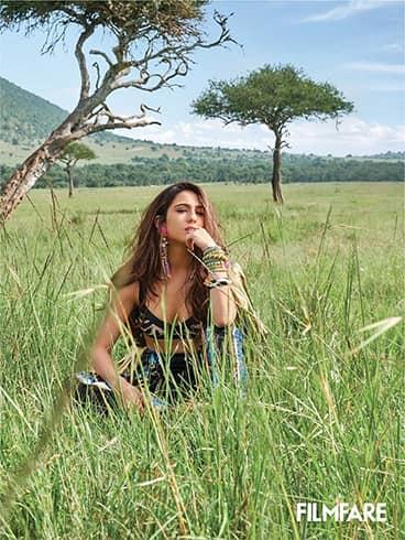 Sara Ali Khan Filmfare Magazine
