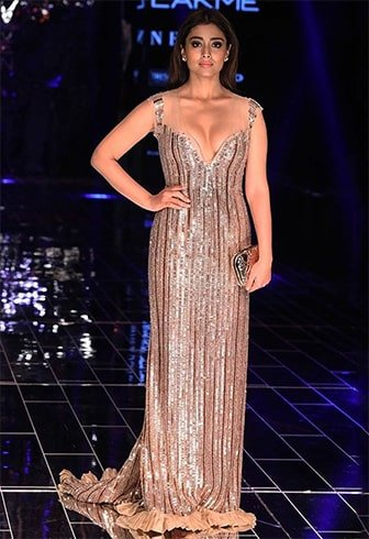 Shriya Saran Ramp Walk