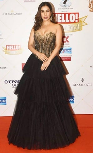 Sophie Choudry HELLO Hall of Fame Awards 2019