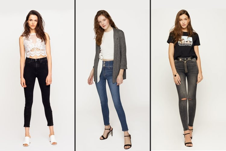 Ways To Wear High Waisted Jeans