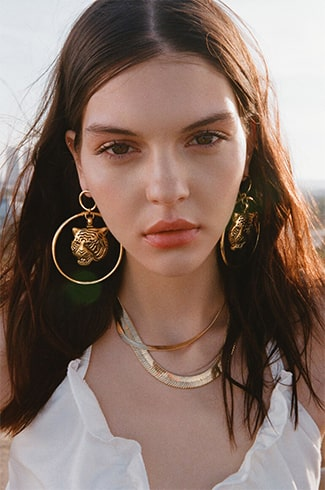 Astrology Inspired Gold Imitations