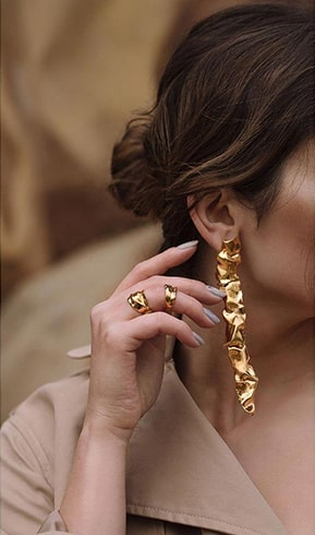 Gold Plated Abstract Creations
