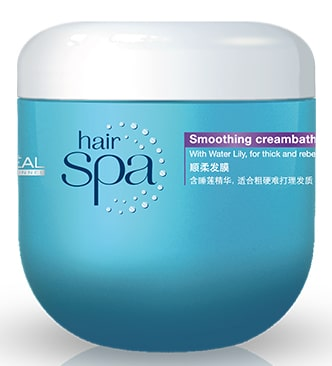 LOreal Hair Spa Smoothing Cream Bath