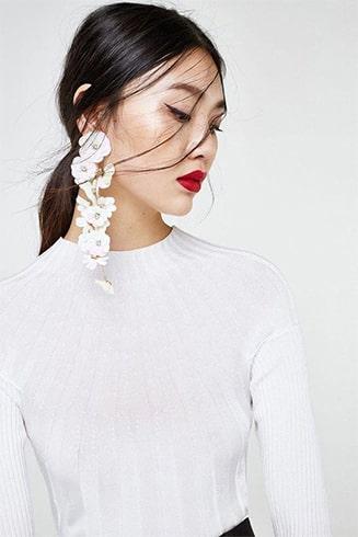 Petal Designed Earrings