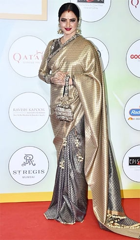 Rekha at Global Spa Awards 2019