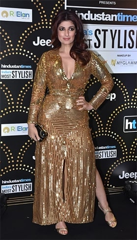 Twinkle Khanna At HT Most Stylish Awards 2019