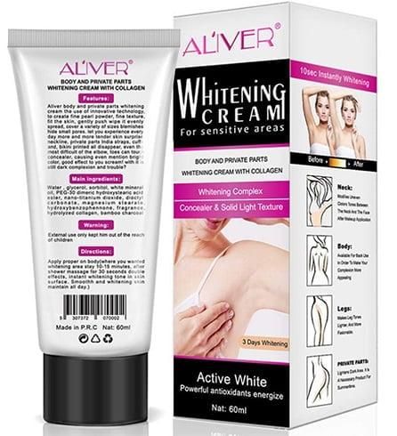 Aliver Underarm Whitening Cream
