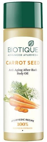 Biotique Bio Carrot Seed Anti-Aging After-Bath Body Oil