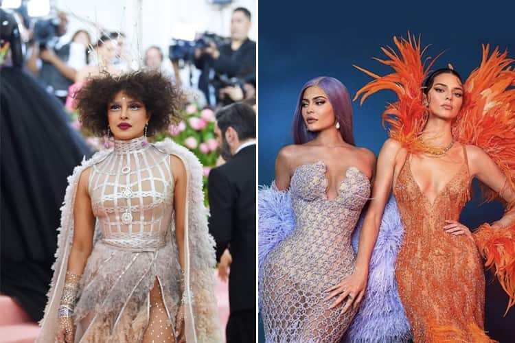 Celebrities at Met Gala 2019