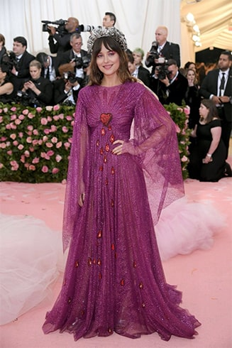 Dakota Johnson at Met Gala 2019