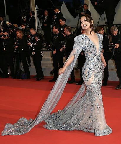 Hina Khan at Cannes 2019 Debut