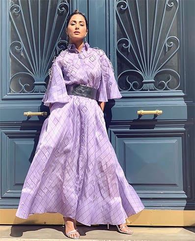 Hina Khan at Cannes 2019
