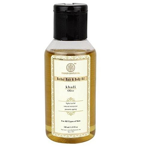Khadi Natural Ayurvedic Olive Hair and Body Oil
