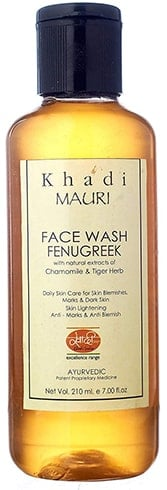 Khadi Natural Fenugreek Face Wash