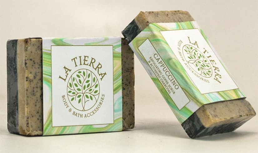 La Tierra Goat'S Milk & Exfoliating Oats Handmade Soap