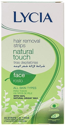 Lycia Hair Removal Wax Strips