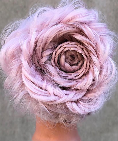 Rose Hair Bun