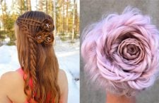 Braided Rose Hairstyles