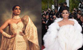 Sonam Kapoor and Aishwarya Rai at Cannes 2019