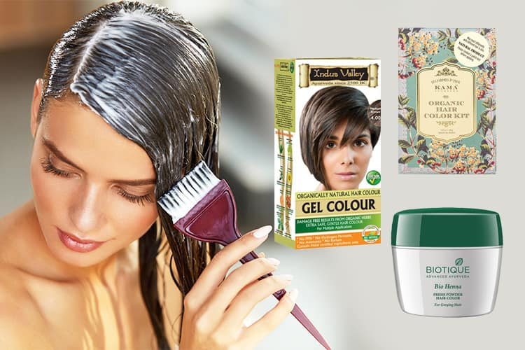 Five Best Herbal Hair Color Brands Available In India