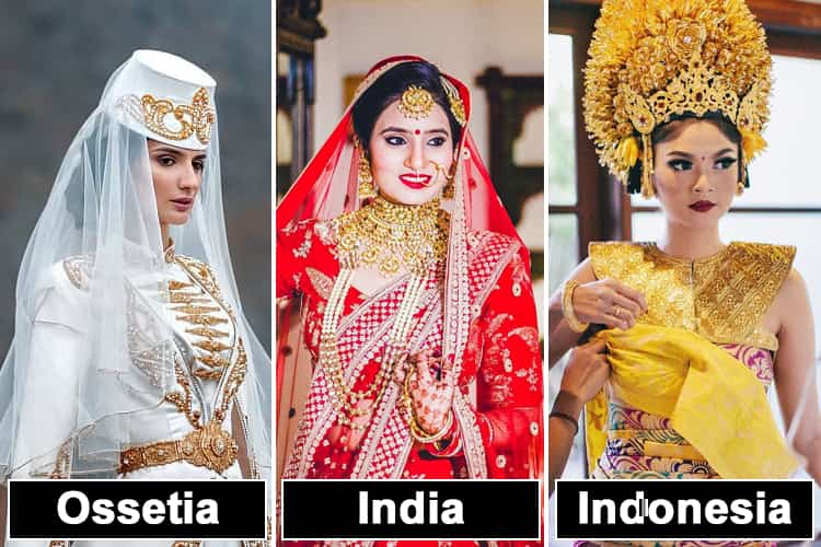 Bridal Looks From Around The World