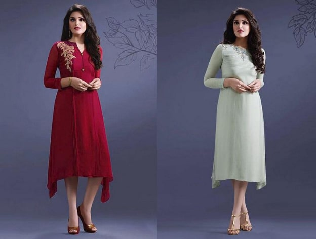 Kurti for Cocktail Parties