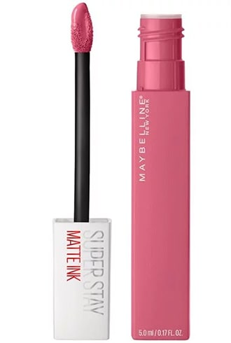 Maybelline New Yorks Super Stay Matte Ink Lipstick Inspirer