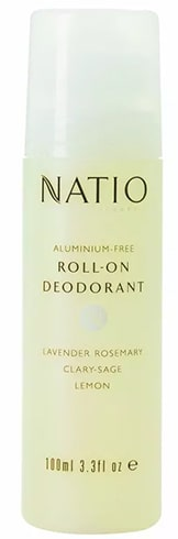 Natio Aromatherapy Aluminium Free Roll On Deodorant