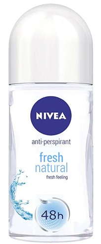 Nivea Fresh Natural Anti Perspirant Roll-On Deodorant