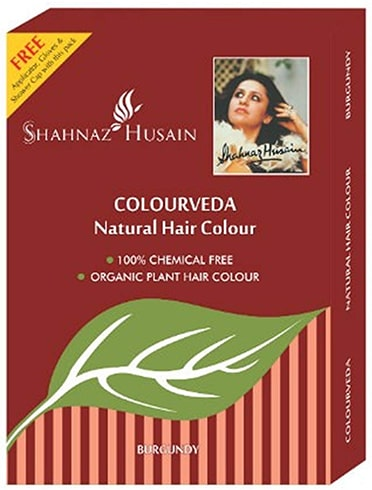 Shahnaz Hussain Colorveda Natural Hair Color