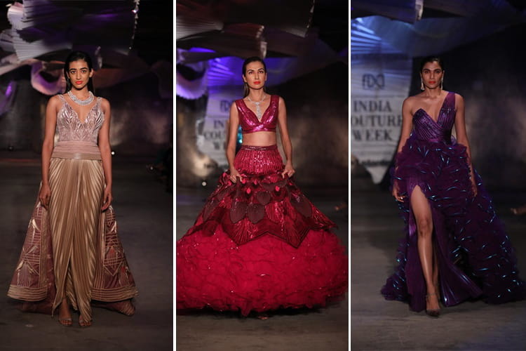 Amit Aggarwal Collection at FDCI India Couture Week 2019