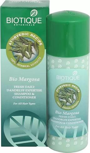 Biotique Bio Margosa Anti-Dandruff Expertise Hair Shampoo and Conditioner