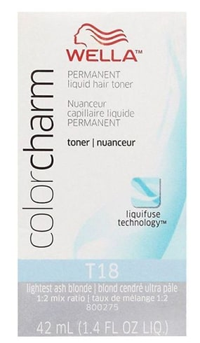 Charm T18 Lightest Ash Blonde Toner Wella Color