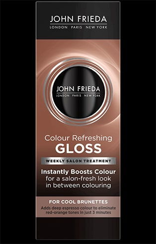 Colour Refreshing Gloss for Cool Brunette John Frieda