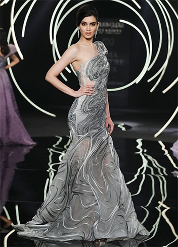 Diana Penty Walks For Gaurav Gupta
