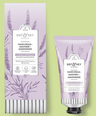 Dot and Key Hand Cream Sanitizer Moisturizer