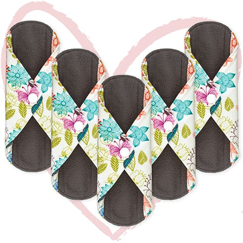 Heart Felt Sanitary Reusable Cloth Menstrual Pads