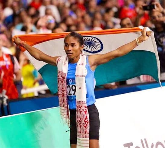 Hima Das Achieves Third International Gold