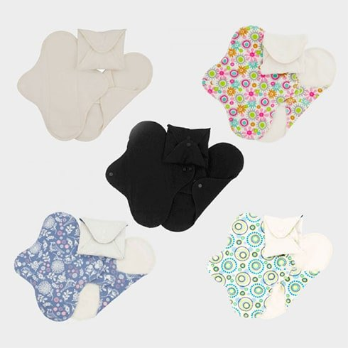Imse Vimse Reusable Organic Cotton Menstrual Pads