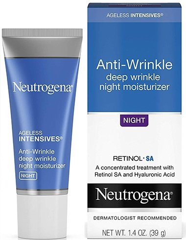 Neutrogena Ageless Intensives Anti-Wrinkle Deep Wrinkle Night Facial Cream