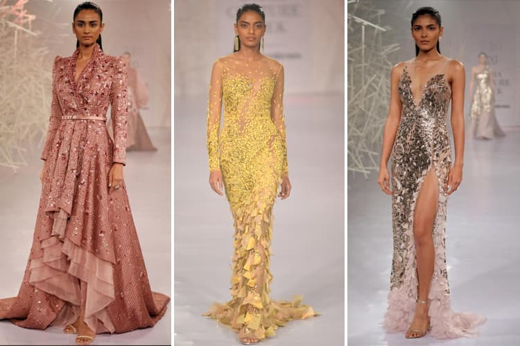 Pankaj and Nidhi Collection at FDCI India Couture Week 2019