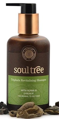 Soultree Triphala Revitalizing Shampoo with Henna and Shikakai