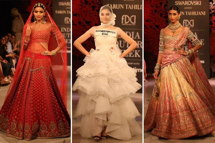 Tarun Tahiliani Collection at FDCI India Couture Week 2019
