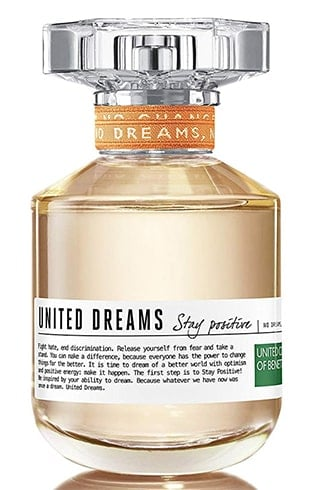 United Colors of Benetton United Dream Stay Positive Eau De Toilette for Women