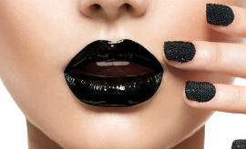 Ways To Flaunt A Black Lipstick