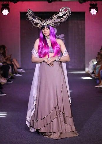 Adah Sharma at Lakme Fashion Week Winter Festive 2019
