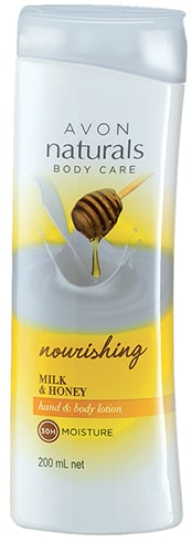 Avon Naturals Milk Honey Body Lotion